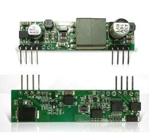 Изоляция PoE PD модуль Power-over-Ethernet для arduino r3 ethernet щит ieeee802.3 D1398 5V 2A для отпечатков пальцев доступа телефона
