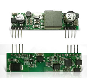 Модуль питания DYKB PoE PD для arduino r3 Ethernet щит ieeee802.3 D1398 5 в 2 а 10 Вт для телефона с распознаванием отпечатков пальцев