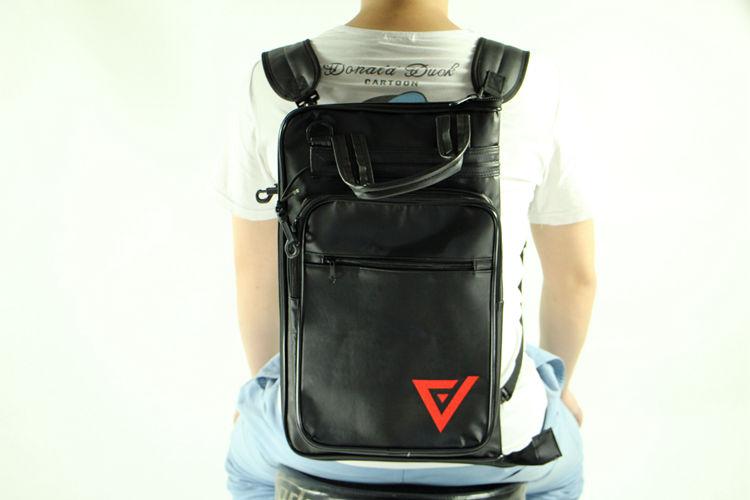 Leather Backpacks Large Drumstick Bag Case 5B 5A Drum Kit  High Quality Color Export Accessories Parts More Many Pro Musical bag de baquetas tipo mochila
