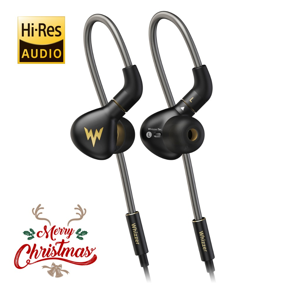 Whizzer A15 Pro Dynamique Écouteurs HiFi Salut-Res Pur Clair Un Son Équilibré En Métal Dans les Écouteurs D'oreille avec MMCX Câble boutique officielle