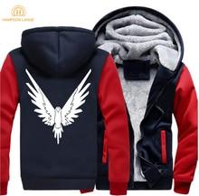 цена на Logan Jake Paul Team 10 Funny Hoodies Men 2019 Winter Men's Jackets Casual Sweatshirt Warm Fleece Tracksuit Hip Hop Streetwear