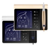 Third Generation Permanent Makeup Machine Touch Screen Multifunctional Tattoo Pen Kit Lip Eyebrow Microblading Gun