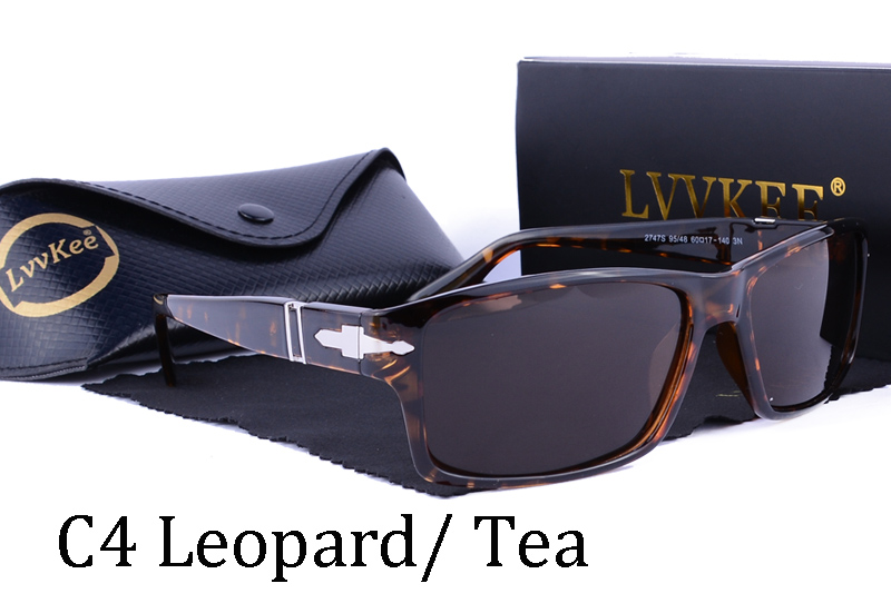 391170546fb LVVKEE brand Men Retro Polarized Driving Sunglasses Mission Impossible 4 Tom  Cruise James Bond Style Rectangular Sun Glasses-in Sunglasses from Apparel  ...
