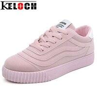 Keloch 2017 Fashion Flats Women Trainers Breathable Sport Woman Shoes Casual Outdoor Walking Women Flats Zapatillas