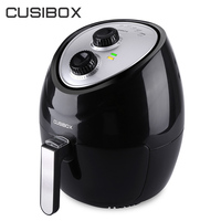 CUSIBOX Electric Deep Fryers 3 6L Household Oil Free Electric Air Fryer Smokeless French Fries Maker