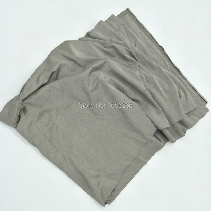 Block EMF Knitted 100% Silver Fabric In Good Electric ConductivityBlock EMF Knitted 100% Silver Fabric In Good Electric Conductivity
