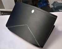 KH Laptop Brushed Glitter Sticker Skin Cover Guard Protector For Dell Alienware 14 M14x ANW14 ALW14
