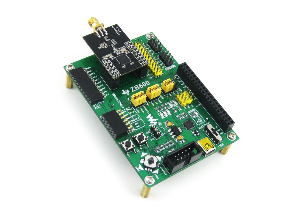 Parts ZigBee Module Wireless Communication Expansion Board Super Far 1500 Meters + XCore2530 +2.2'' LCD + 3 Modules= CC2530 Eval usb serial rs485 rs232 zigbee cc2530 pa remote wireless module