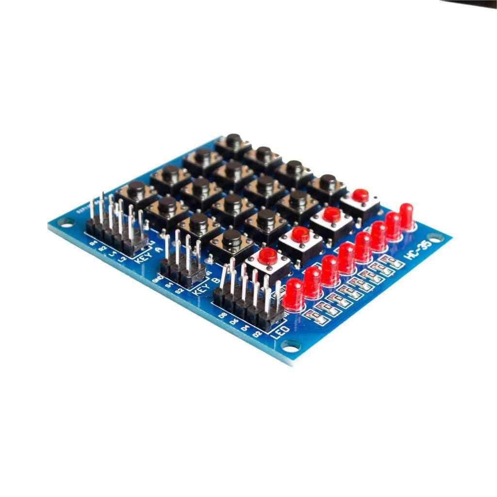 4 x 4 8pin Membran Keypad Keyboard Tastatur Matrix Modul Arduino STM32