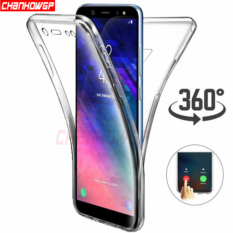 Double Silicone Case For Samsung Galaxy S5 S6 S7 Edge S8 S9 Plus A3 A5 A6 A8 J3 J4 J5 J6 J7 Neo 2018 2017 2016 Grand Prime G531 leg extension split machine