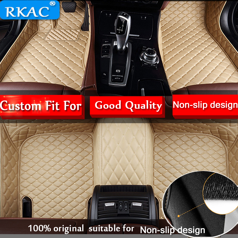RKAC FOR <font><b>LEXUS</b></font> RX270 <font><b>RX350</b></font> RX450 Car <font><b>Floor</b></font> <font><b>Mats</b></font> Custom Rugs Auto Interior Leather Foot <font><b>Mat</b></font> Pads Accessories Car-styling image