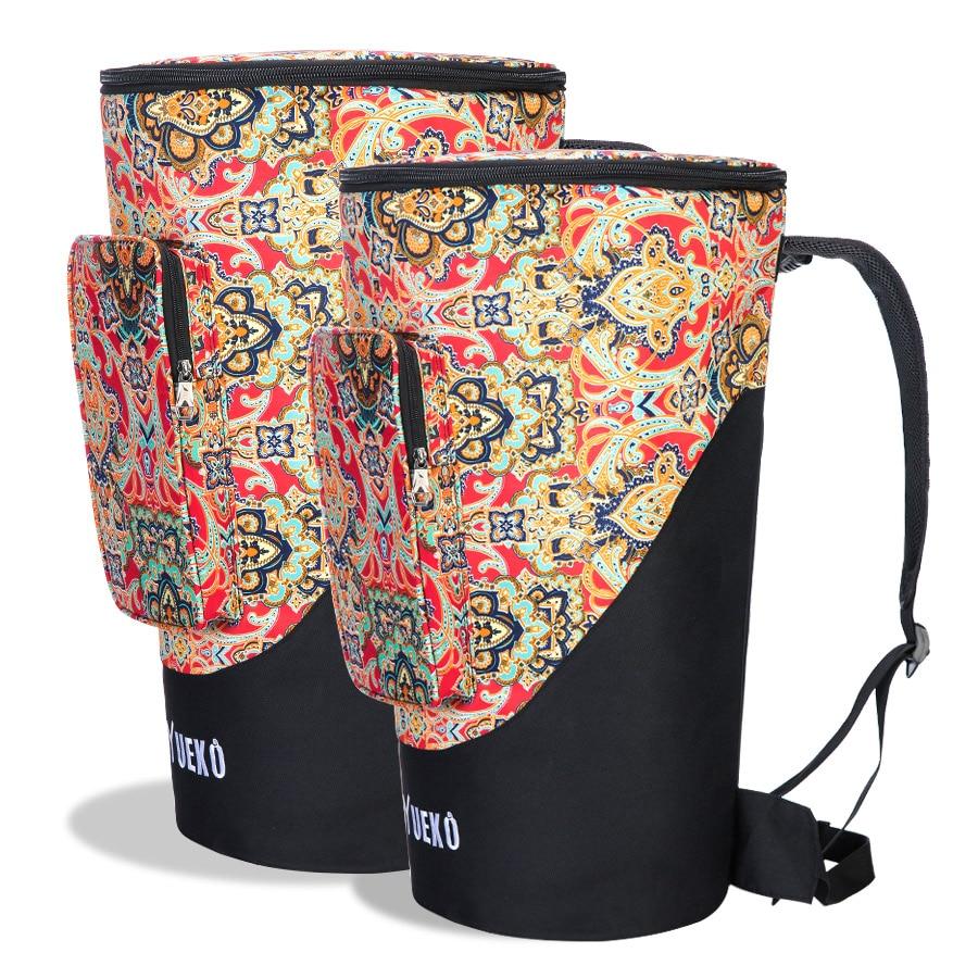 2018 novo saco djembe resistente alças de ombro alta qualidade e durável africano tambor saco triplo-camada construção 10 polegada 12 polegada