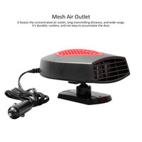 12V Auto 150W Car Hand Held Heated Fan Car Vehicle Portable Heater Heating Cooling Fan Car