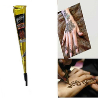 Hot! Temporary Tattoo Painted Drawing Cream Quick-drying Body Art Cosmetic Tool