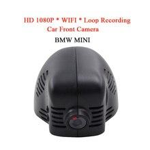 WIFI Waterproof HD 1080P Automobile DVR Digicam Night time Imaginative and prescient Entrance Digicam For BMW MINI Automobile DVD Monitor Recorder GPS Loop Recording