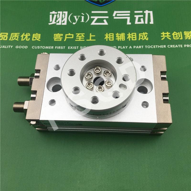 MSQB10A MSQB20A MSQB30A SMC rotary table/rack & pinion style cylinder MSQ Series msq