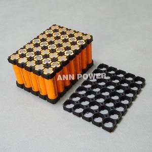 Image 4 - Suporte da bateria, 5*7 18650 e níquel puro 7s5p titular + suporte de plástico do níquel puro para 7s 24 pacote de bateria de íon de lítio v 10ah 15ah