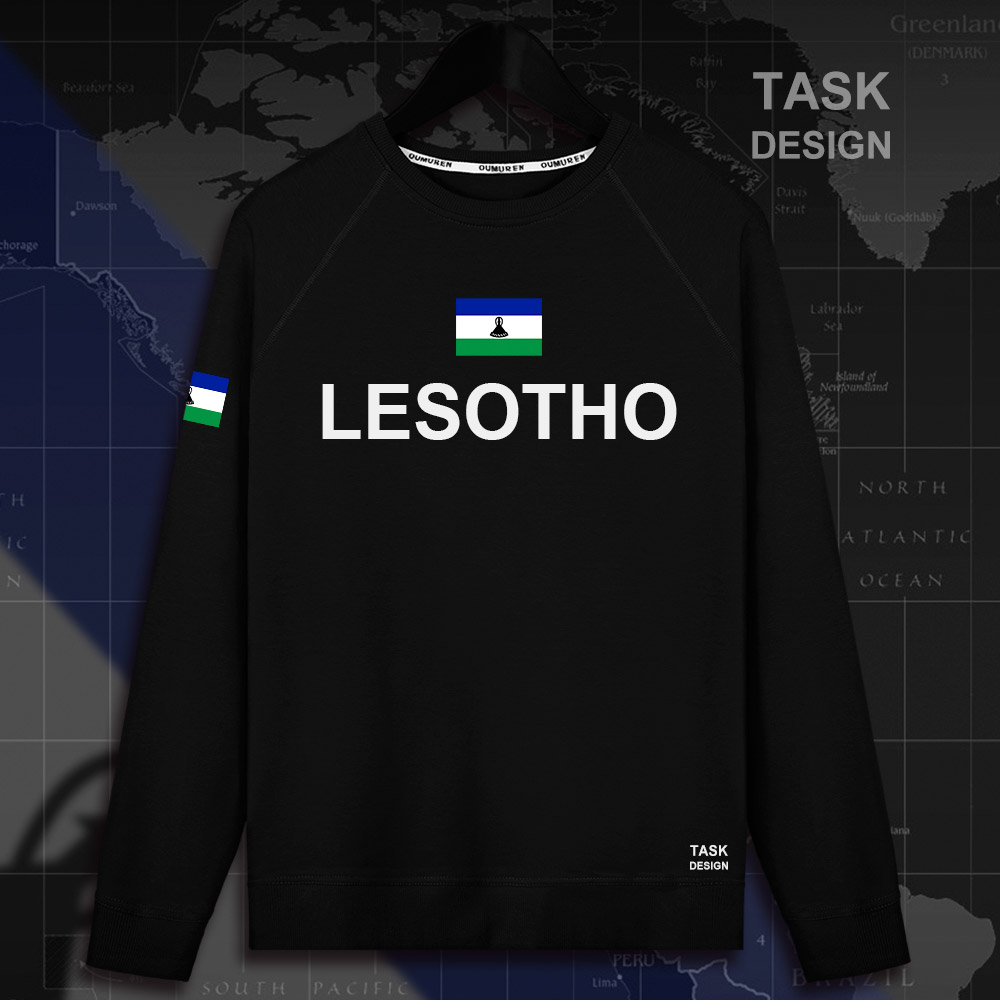 Lesotho LSO Sotho Basotho LS mens hoodie pullovers hoodies men sweatshirt new streetwear clothing Sportswear tracksuit nation