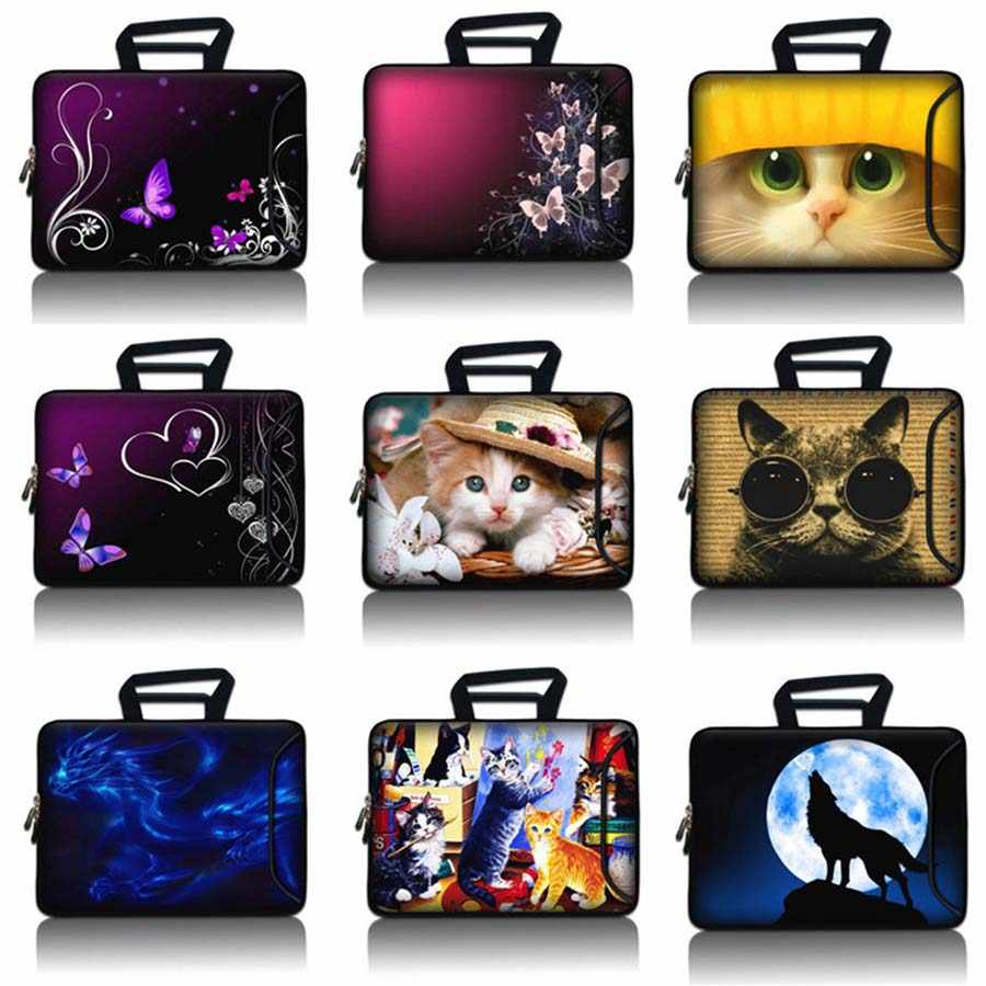 10,1, 12,3, 13,3, 14,1, 15,4, 15,6, 17,3 portátil suave manga bolsa 10 11 12 13 14 15 17 Notebook funda para thinkpad SBP-hot16