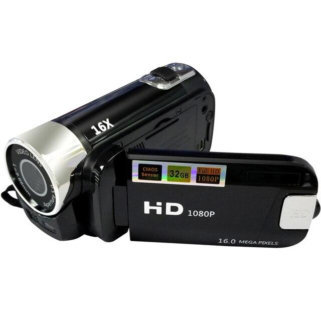 2.7 inch Video Kỹ Thuật Số Máy Ảnh 16MP 1080 p Full HD Máy Ảnh Kỹ Thuật Số 16X Kỹ Thuật Số Zoom Anti-shake DV Video ghi Video Máy Quay Phim