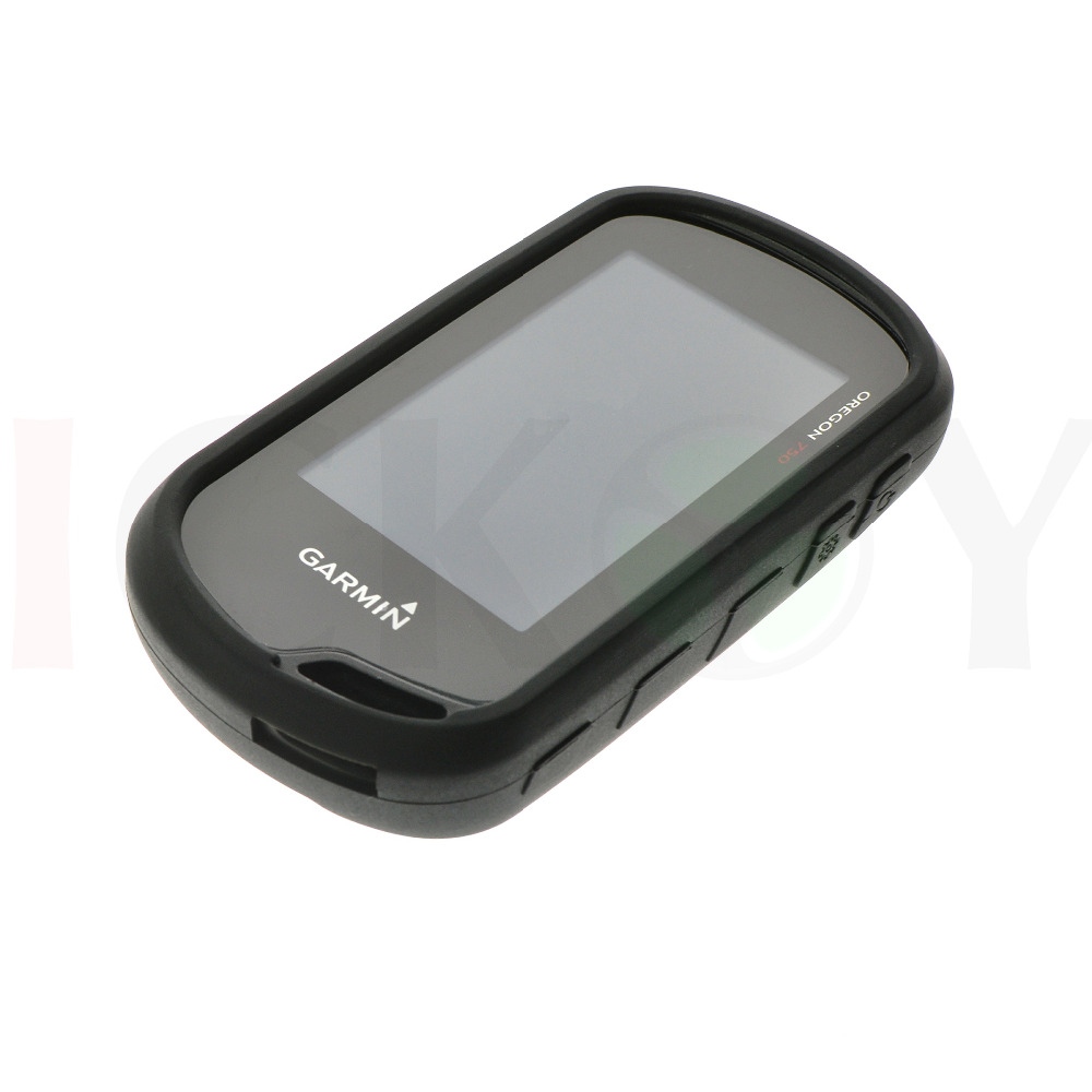 kwmobile Case Compatible with Garmin Oregon 550 Black GPS Handset Navigation System Soft Silicone Skin Protective Cover
