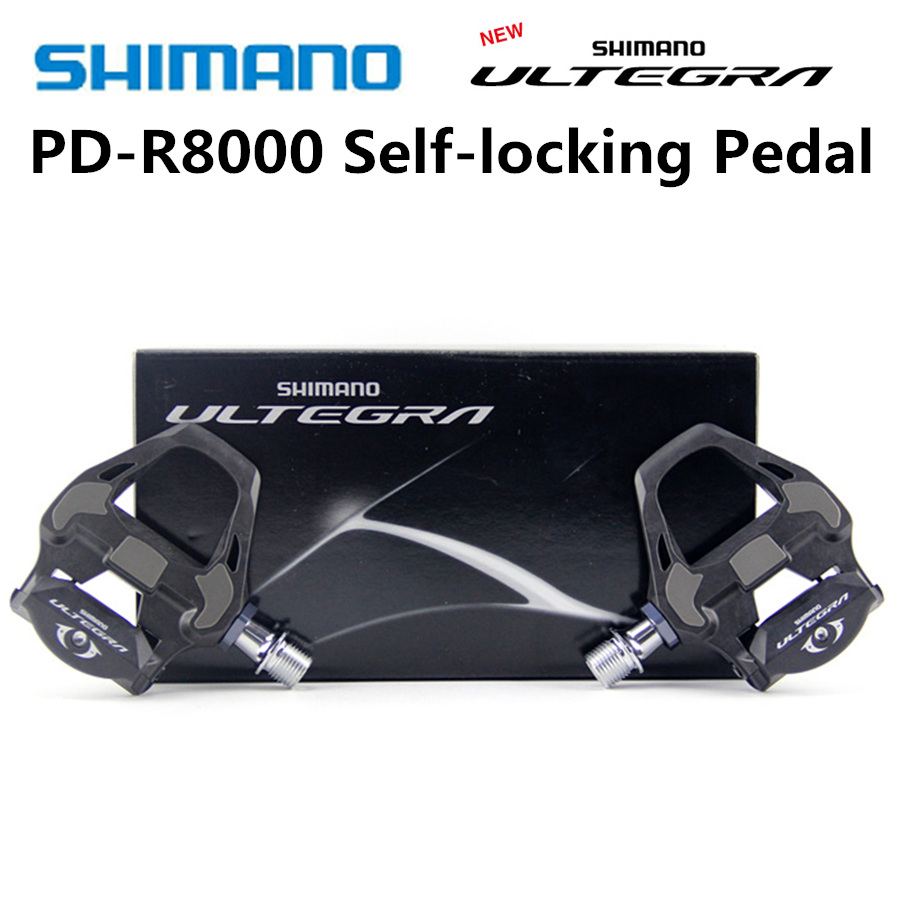 SHIMANO PD R8000 Pedals Road Bike Clipless Pedals with SPD SL ULTEGRA R8000 Cleats Pedal SM