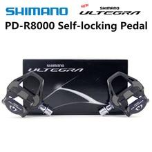 시마노 pd r8000 페달로드 자전거 clipless 페달 SPD SL ultegra r8000 클리트 페달 SM SH11 상자