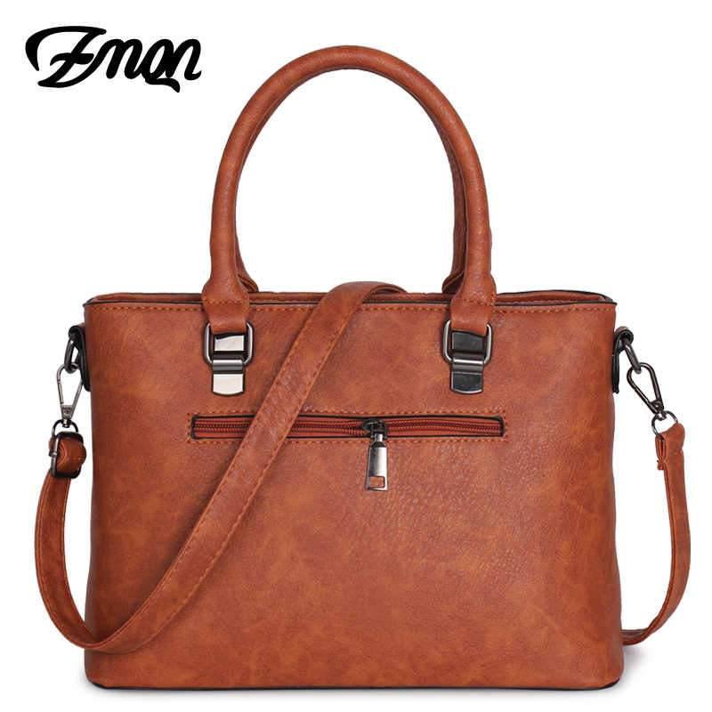 ZMQN حقيبة يد حقائب بيد تقاطعية للسيدات حقيبة للنساء 2019 مصمم حقائب العلامة التجارية الشهيرة حقائب يد من الجلد السيدات بولسا الأنثوية A821