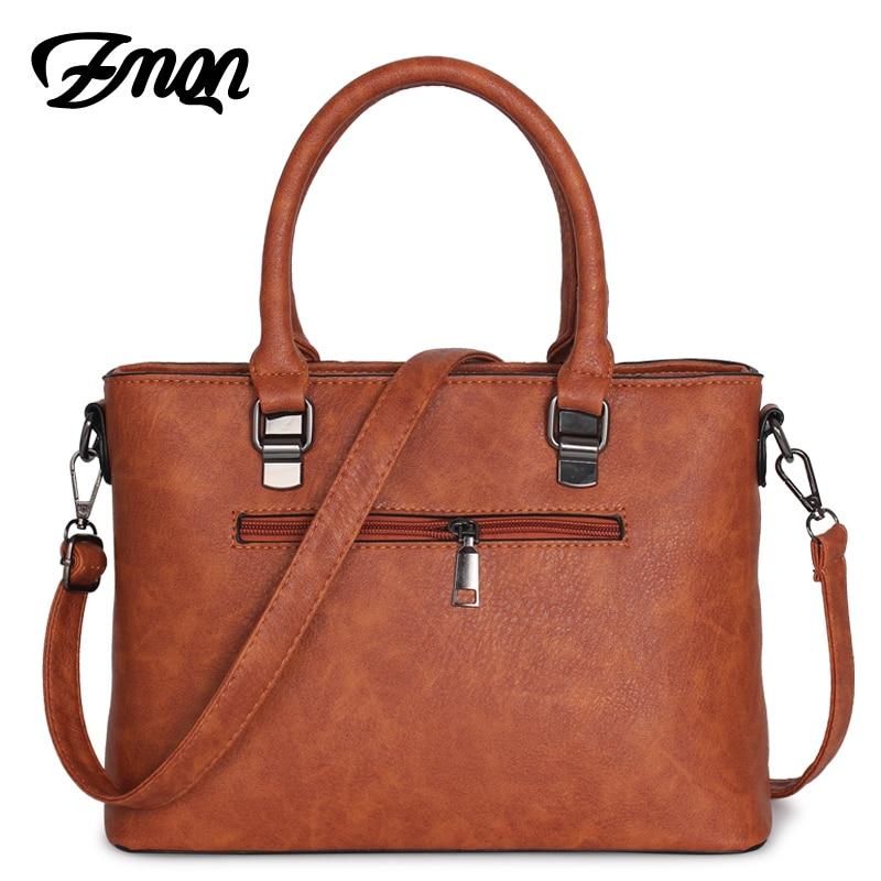 Image 2 - ZMQN Handbag Female Crossbody Bag For Women Bag 2020 Designer  Handbags Famous Brand Leather Hand Bags Ladies Bolsa Feminina  A821Top-Handle Bags