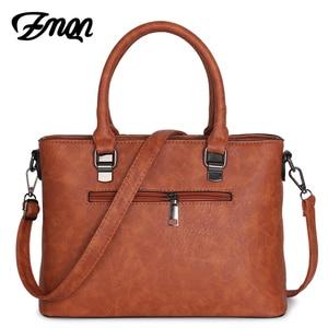 Image 2 - Zmqn Handtas Vrouwelijke Crossbody Tas Voor Vrouwen Tas 2020 Designer Handtassen Beroemde Merk Lederen Handtassen Dames Bolsa Feminina A821