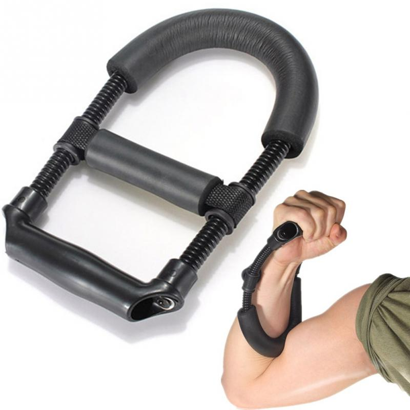 Grip Power Wrist Forearm Hand Grip Exerciser Strength Training Device Fitness Muscular Strengthen Force Fitness Equipment adjustable fitness equipment grip hands strength exercise power exercise 5 20kg forearm hands for wholesale and free shipping