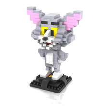 LOZ 9445 Tom & Jerry Cat and Mouse Diamond Brick Minifigures Building Block Best Toys Compatible with Legoe