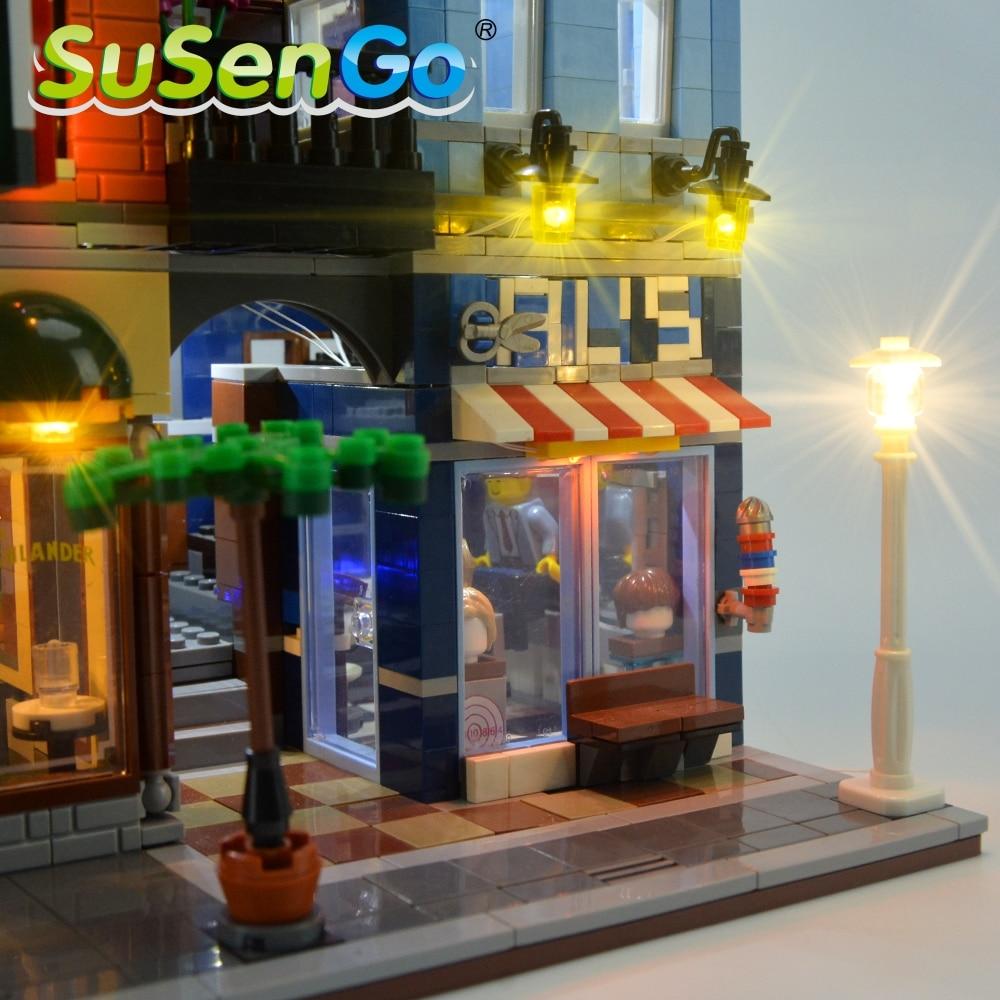 Kit d'éclairage SuSenGo LED pour l'ensemble d'éclairage de bureau - Concepteurs et jouets de construction - Photo 4