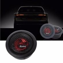 2 Pcs DC 12V 92dB 2500-20KHz 120W Car Dome Tweeter Audio Lou