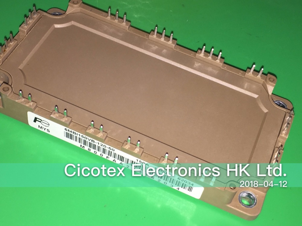 все цены на 6MBI150VB-120-50 MODULES IGBT 150A 1200V