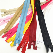 Color Zip Zipper Fermeture Sewing-Clothing 50cm Resin for Cremalleras Costura Coudre