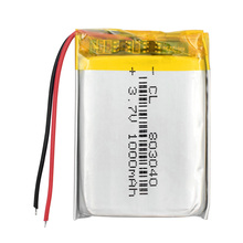 3.7V 1000mAh 803040 Lithium Polymer Li-Po ion Rechargeable Battery For MP4 MP5 GPS PSP mobile Pocket PC e-books bluetooth