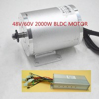 48V 60V 2000W Electric Motor ebike motor Conversion Kit with Brushless Motor Controller for Electric bike/Scooter/tricycle