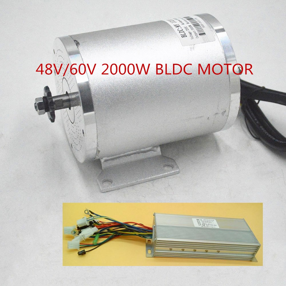 48V <font><b>60V</b></font> <font><b>2000W</b></font> Electric <font><b>Motor</b></font> ebike <font><b>motor</b></font> Conversion Kit with Brushless <font><b>Motor</b></font> Controller for Electric bike/Scooter/tricycle image