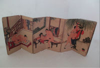 Elaborate Interesting Ancient China Couple's Life Paper Picture Album