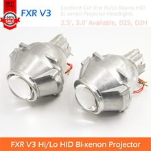 2pcs Of FXR V3 Gen3 HID Bi-xenon Projector Lens Headlights With Excellent Cut-line For All Cars Retrofit And Styling