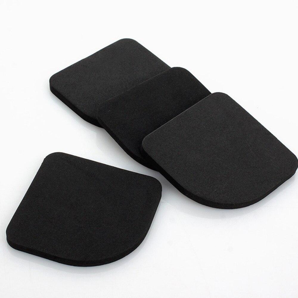 Anti-vibration Mats 4pcs/set Black Multifunction Washing Machine Shock Mute Pads Refrigerator Non-slip Bathroom Accessories