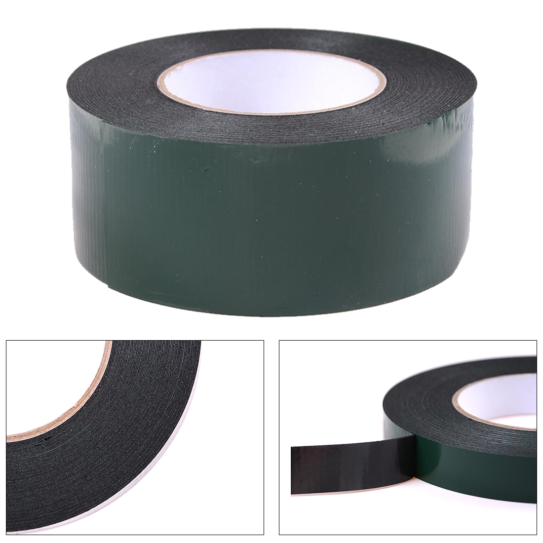 Double Sided Tape Self Strong Adhesive Mounting Foam Car Trim Plate 25mm x 5M
