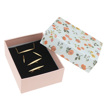Free shipping Box For Jewelry wholesale 40pcs /lot 9.5*7.5*3.8cm Necklace Pendant Packaging Boxes Ring Earring Display Box
