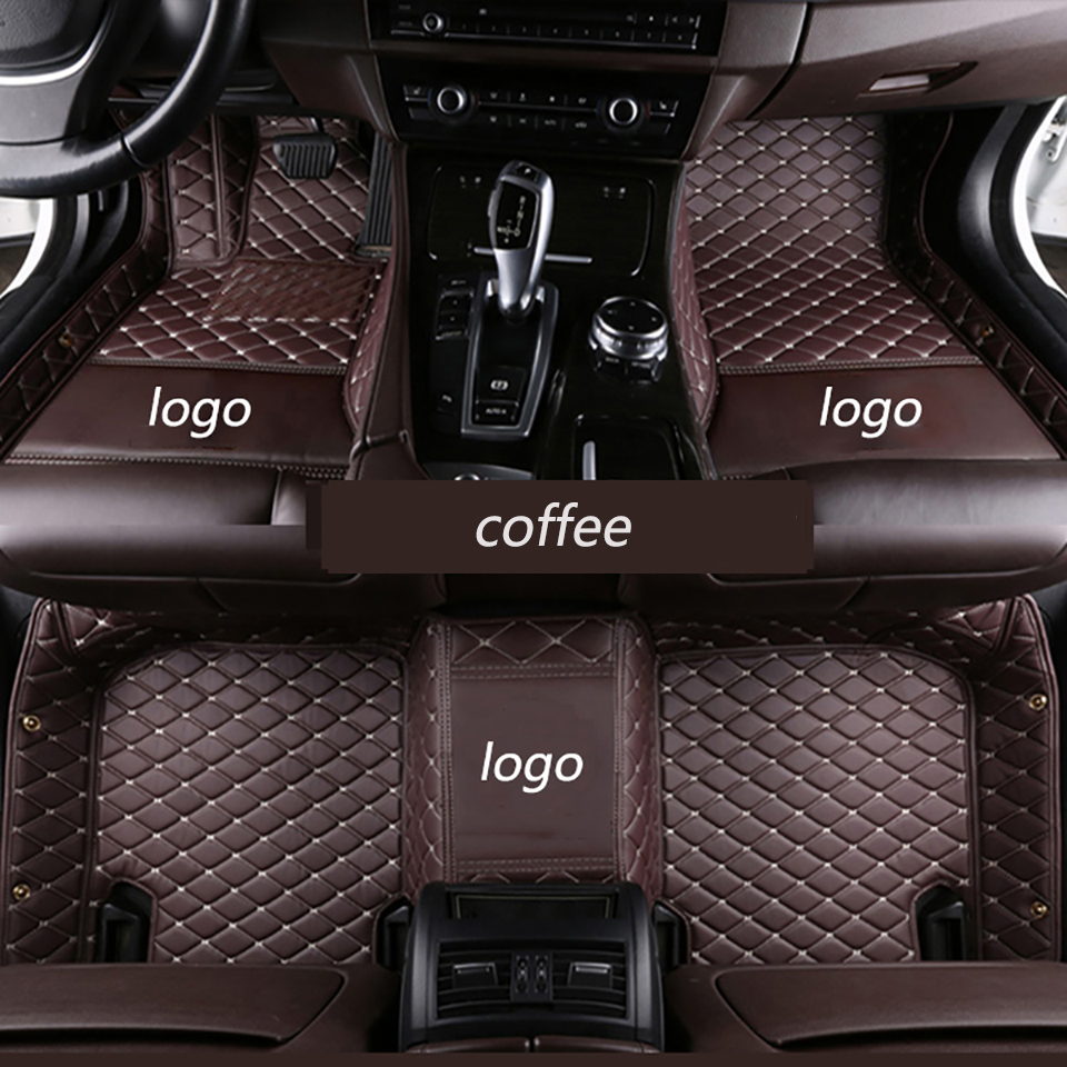Car Floor Mats For logo ford escape 2013-2017 Customized Car Carpets specially Artificial Leather auto accessories car stylingCar Floor Mats For logo ford escape 2013-2017 Customized Car Carpets specially Artificial Leather auto accessories car styling