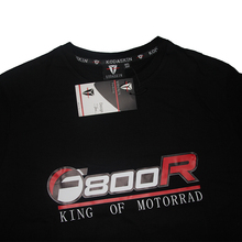 KODASKIN Motorcycle Style F800R T shirt Men Summer Mens Fashion Casual Short Sleeve O-neck Tee