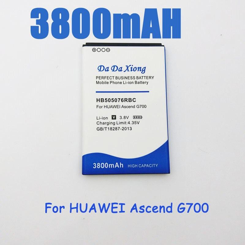 HB505076RBC Battery Huawei G700 3800mah For A199/G700/G710/..