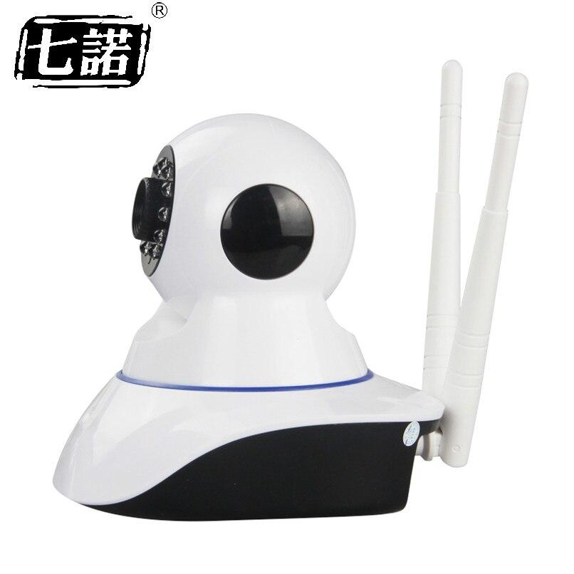 Семь обещание HD 720 P Беспроводной IP Камера Умное видеонаблюдение охранных Камера P2P сети Видеоняни и радионяни дома наблюдения двух-wayaudio