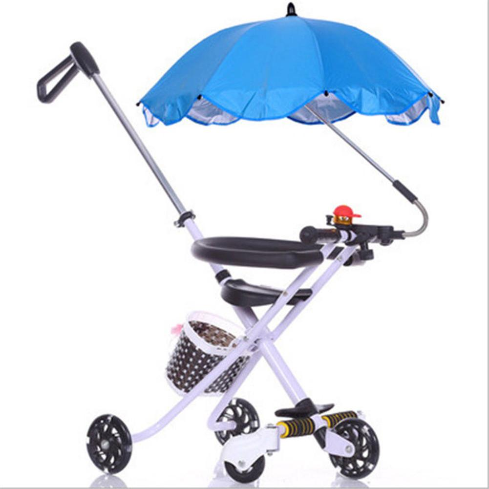 Pram Umbrella Kids Baby Sun Umbrella Parasol Buggy Pushchair Pram Stroller Shade Canopy Covers Block The Sun And Rain Great Gift