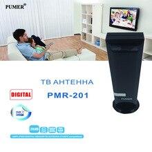 TV antena Interna antena de TV Digital receptor de tv HDTV DTV VHF UHF para DVB-T Signal Booster Não requer instalação PUMER